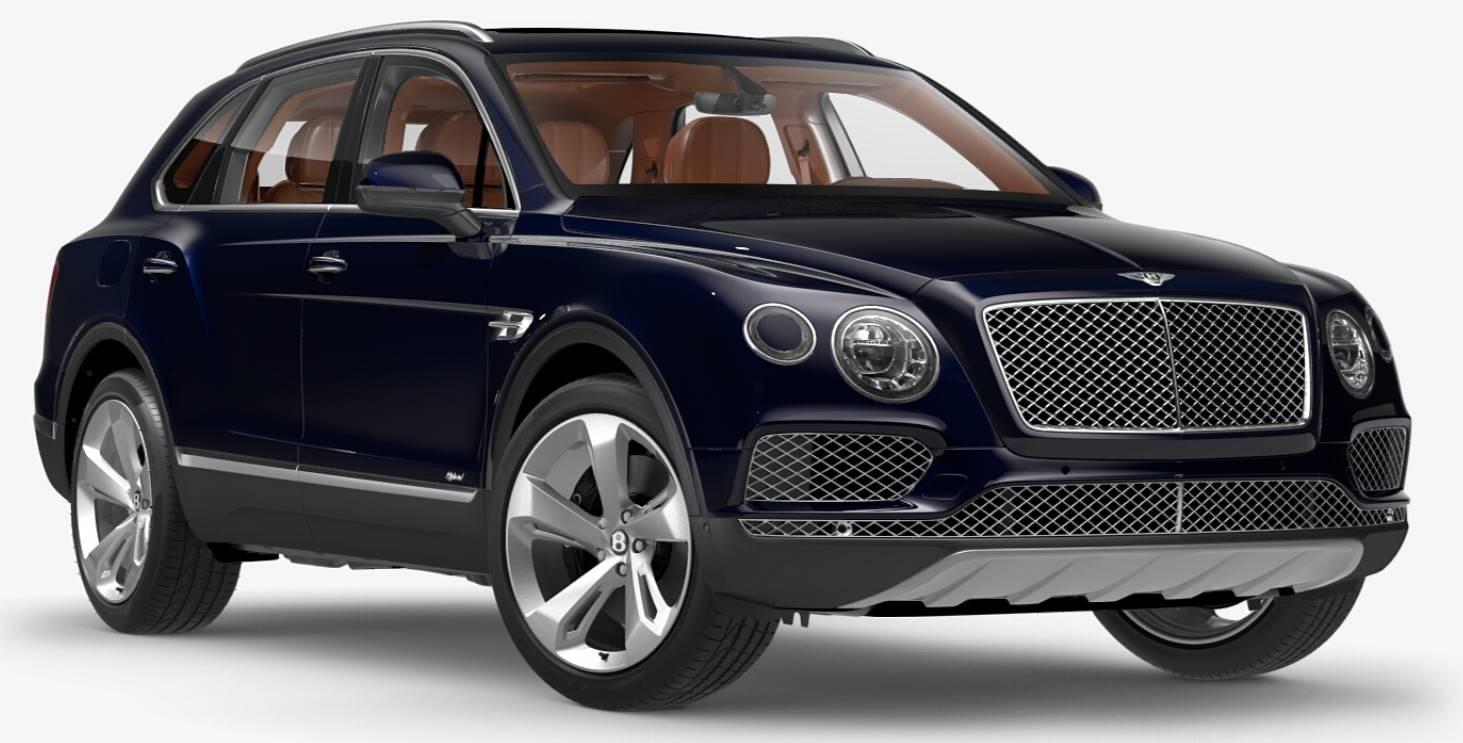 Bentley Bentayga Hybrid Albastru Intens