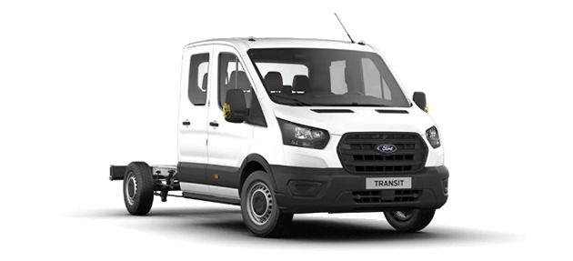 Ford Transit Double Chassis Cab 350L (L3H1) Trend RWD 2.0L EcoBlue 130CP