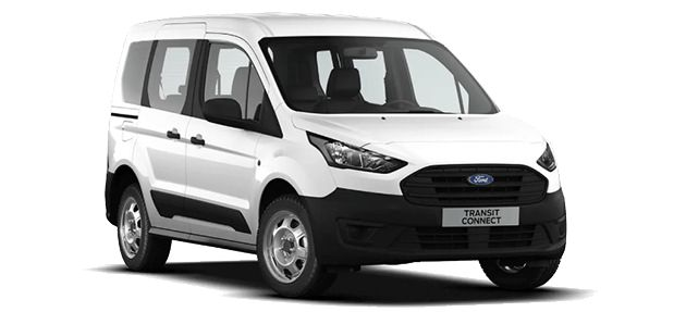 Ford Transit Connect Commercial Kombi (L2) Trend FWD 1.5 TDCI 100 CP MT – Frozen White