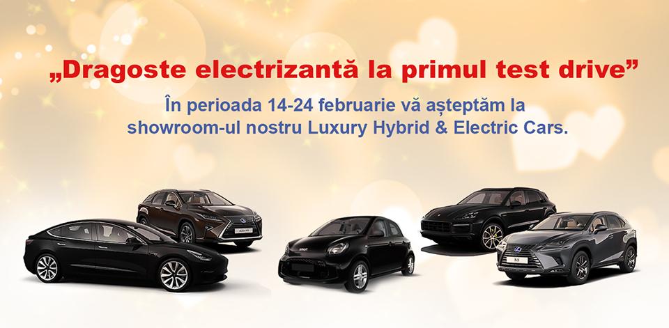 Ultima zi de discounturi speciale ale lunii februarie la Luxury Hybrid & Electric Cars