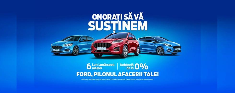 Campanie 6 luni fara griji – Ford Autoturisme
