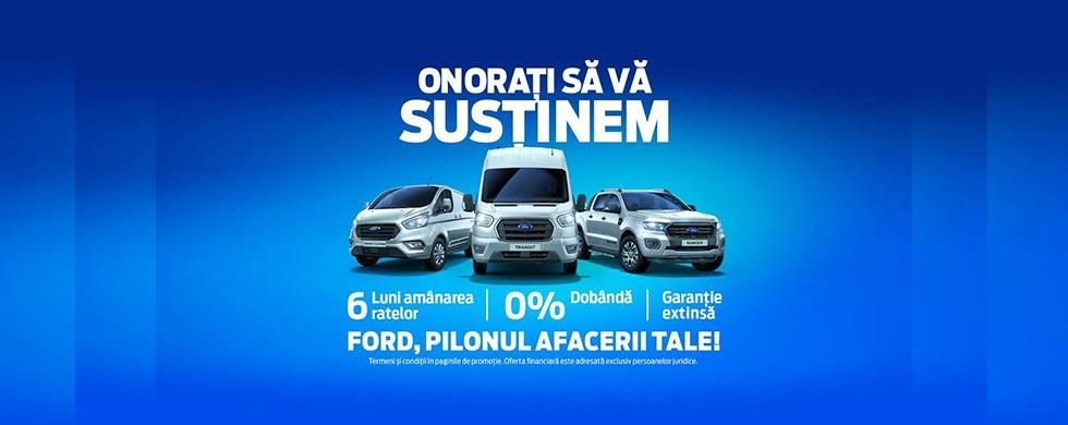 Campanie 6 luni – Ford – comerciale