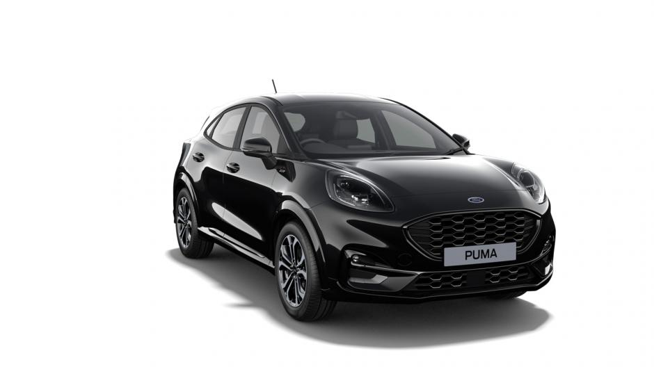 Ford Puma 5 usi Titanium 1.0l EcoBoost 125 CP MT – Agate Black