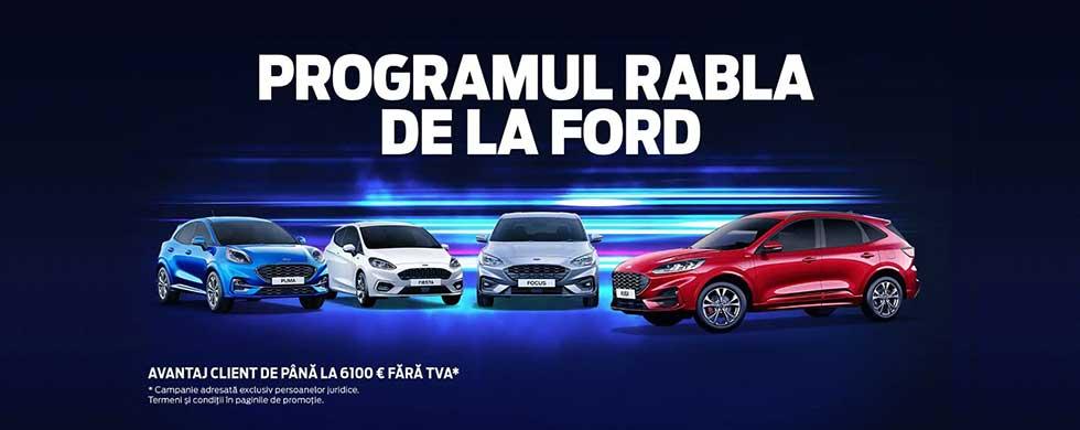 Programul Rabla de la Ford pentru persoane juridice