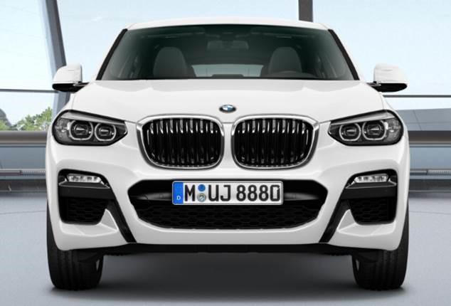 BMW X4 xDrive20d, Linia Model M Sport
