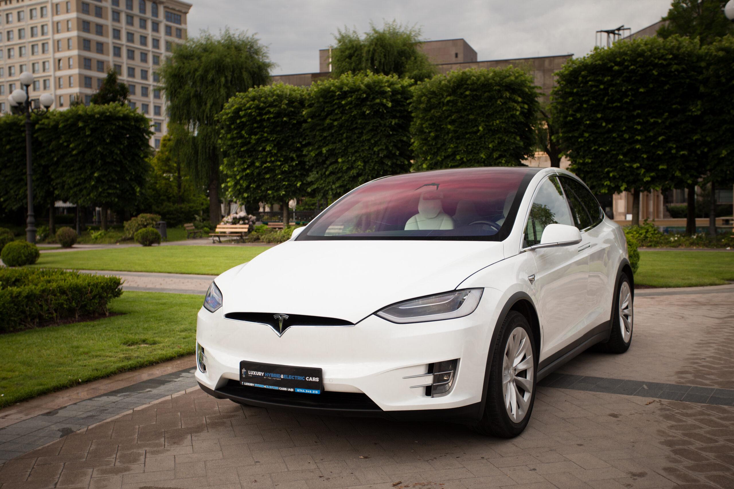 Tesla Model X Ludicrous Performance 100 D