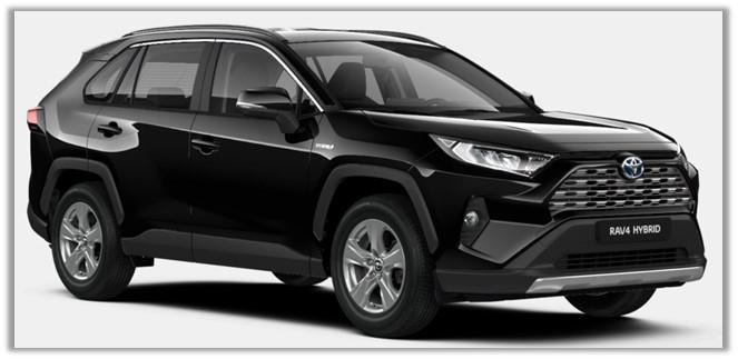 TOYOTA RAV 4 hybrid 4 x 4, model 2021 Comfort – Dynamic
