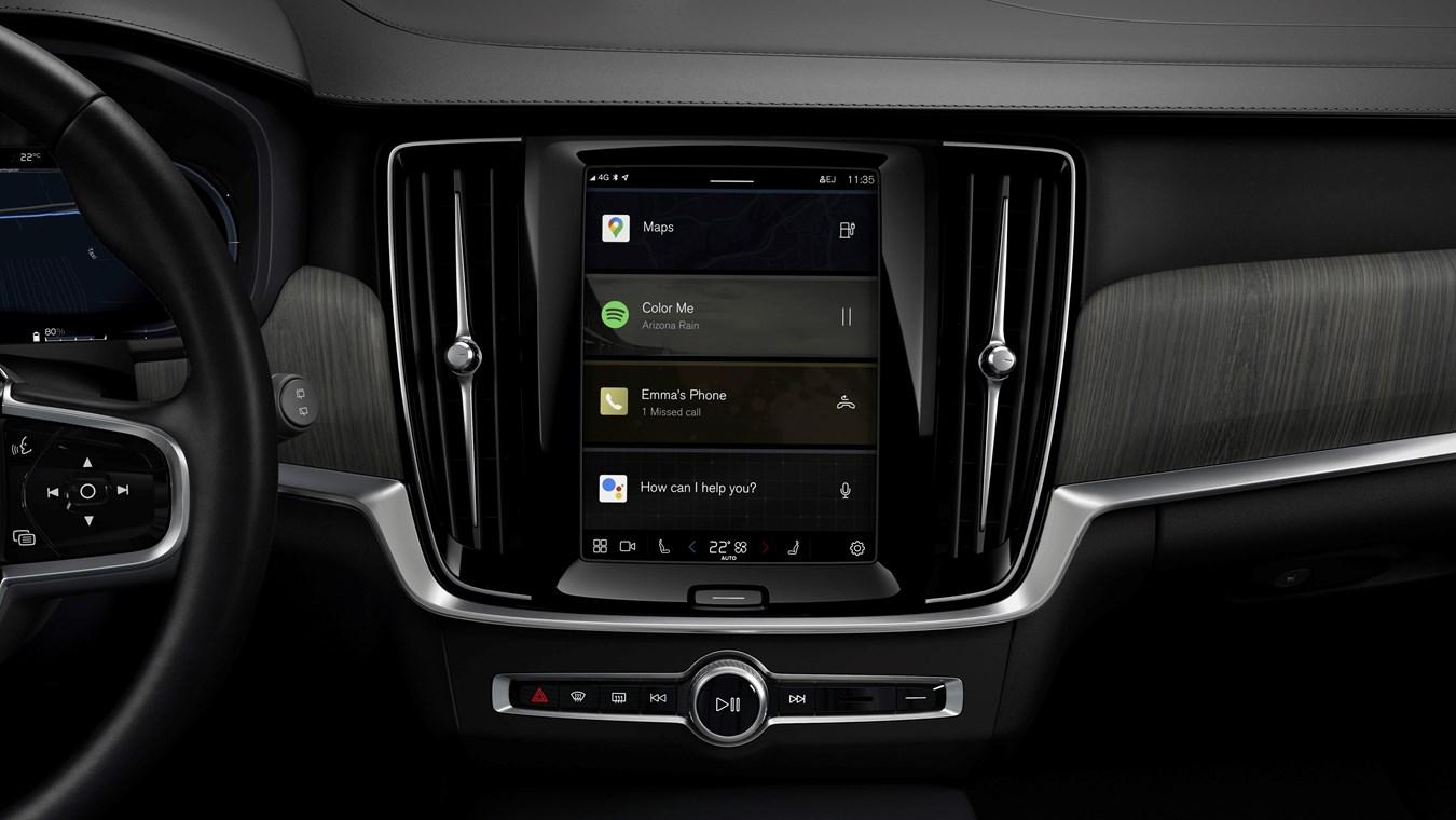 Volvo introduce pe mai multe modele sistemul de infotainment dezvoltat cu Google