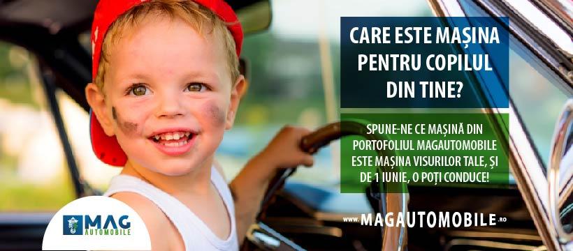 Care este mașina pentru copilul din tine? Câștigătorii