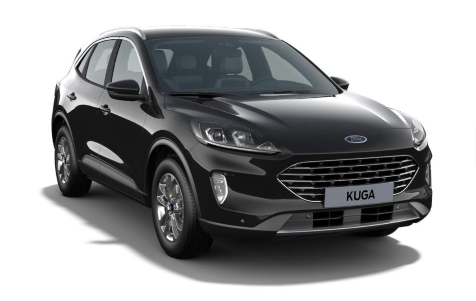 Ford Kuga 5 usi Titanium X 2.5 Duratec Plug-in Hybrid 225 CP AT – Agate Black