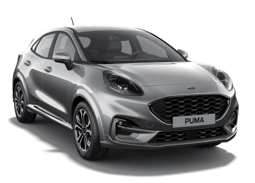 Ford Puma SIP 5 usi ST Line Design 1.0l EcoBoost mHEV 125 CP AT – Solar Silver